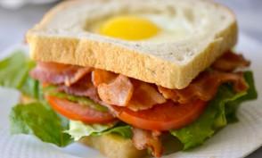 Egg BLT Sandwich