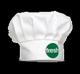 Fresh chefs hat